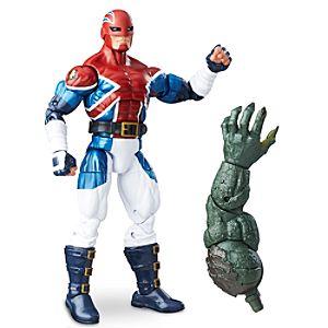 Disney Store Captain Britain Action Figure  -  Build - a - figure Collection