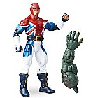 Captain Britain Action Figure - Build-A-Figure Collection - 6''