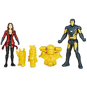 Marvel's Captain America Civil War Action Figure Set - Iron Man and Scarlet Witch 630509403639P