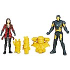 Captain America Civil War Action Figure Set - Iron Man and Scarlet Witch