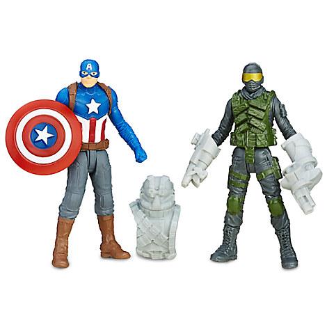 Marvel's Captain America Civil War Action Figure Set - Captain America and Mercenary
