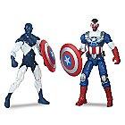 Marvel Legends Shield-Wielding Heroes Set - Captain America & Vance Astro