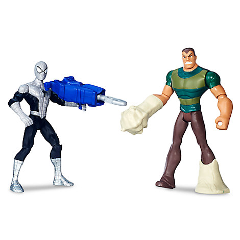 Spider-Man vs. Marvel's Sandman Action Figure Set - Ultimate Spider-Man vs. The Sinister Six - 6''