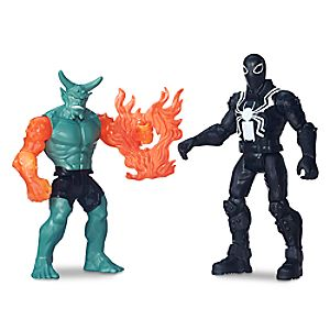 Agent Venom vs. Green Goblin Action Figure Set - Ultimate Spider-Man vs. The Sinister Six - 6'' 630509444977P