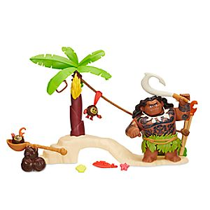 Disney Moana Maui the Demigod's Kakamora Adventure Playset 630509479900P