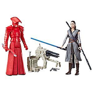 Rey & Elite Praetorian Guard Force Link Action Figure Set by Hasbro - Star Wars: The Last Jedi - 3 3/4'' 630509519491P