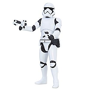 First Order Stormtrooper Force Link Action Figure by Hasbro - Star Wars: The Last Jedi - 3 3/4'' 630509519620P