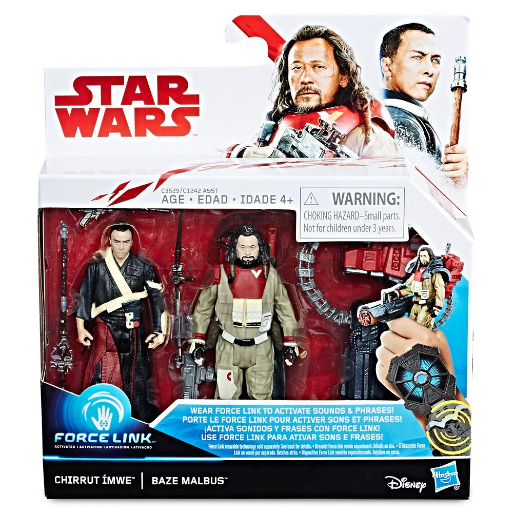 Chirrut Îmwe and Baze Malbus Force Link Action Figures – Rogue One: A Star Wars Story