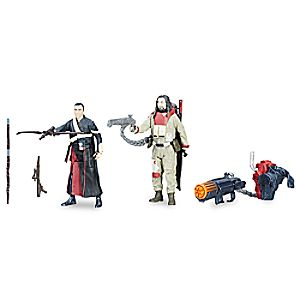 Chirrut Îmwe and Baze Malbus Force Link Action Figures - Rogue One: A Star Wars Story 630509596683P