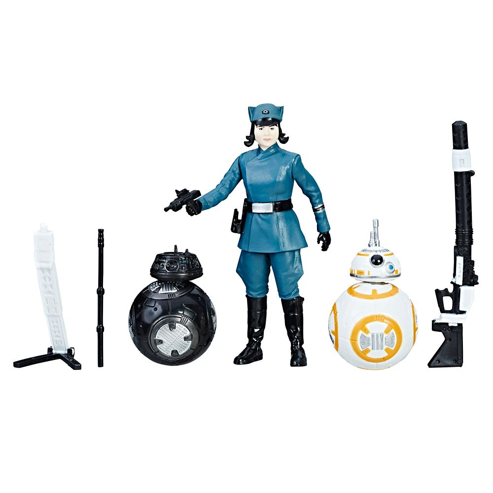 Rose, BB-8, and BB-9E Force Link Action Figures – Star Wars: The Last Jedi