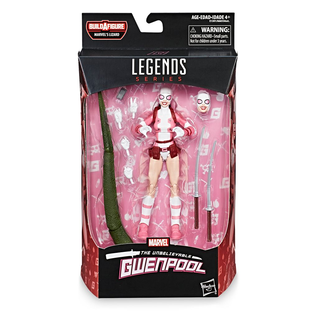 Gwenpool Action Figure – Legends Build-A-Figure Collection – 6''