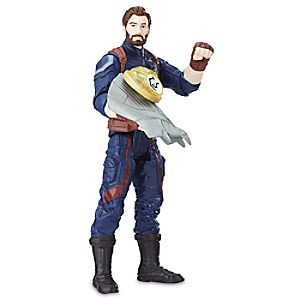 Captain America Action Figure with Infinity Stone - Marvel's Avengers: Infinity War 630509622474P