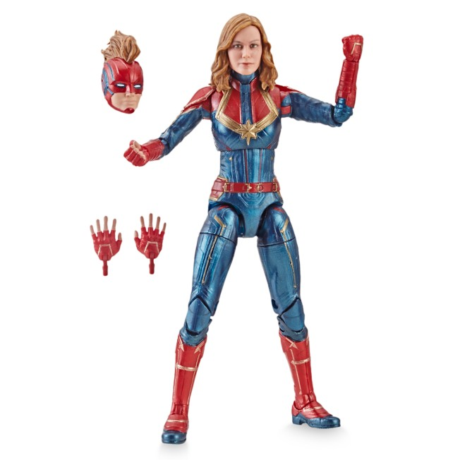 Marvel's Captain Marvel Action Figure – Legends Series – Captain Marvel