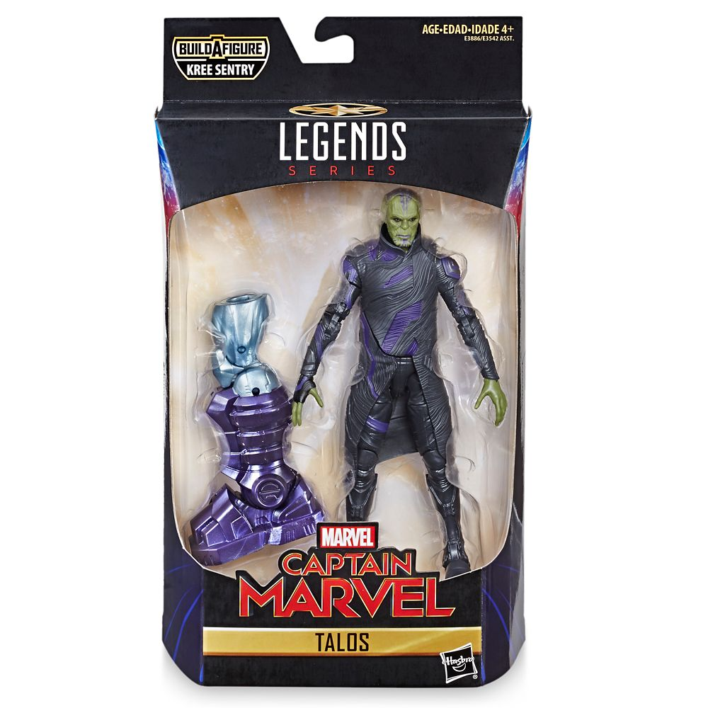Talos Action Figure – Legends Series – Marvel's Captain Marvel