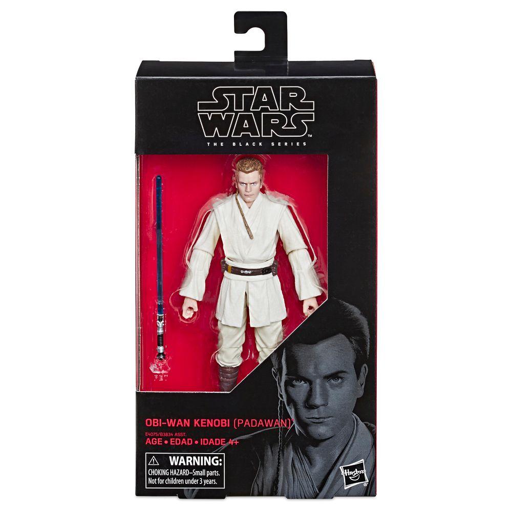 Obi-Wan Kenobi Action Figure – Star Wars: The Phantom Menace – Black Series – Hasbro