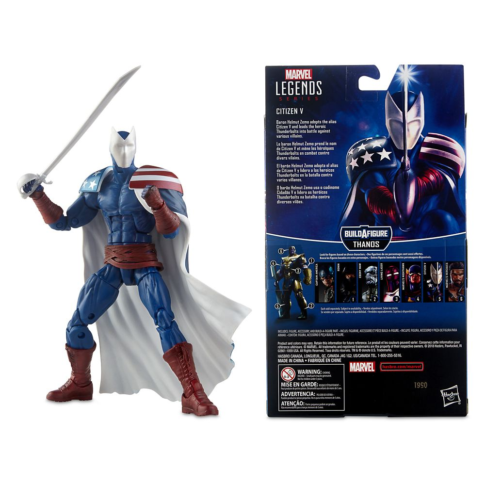 Citizen V Action Figure – Legends Series