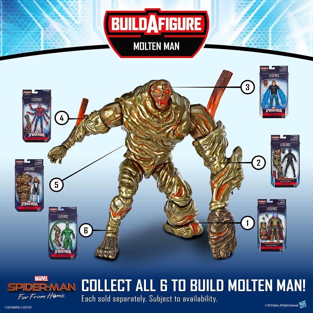 Hydro-Man Action Figure – Spider-Man Legends Series