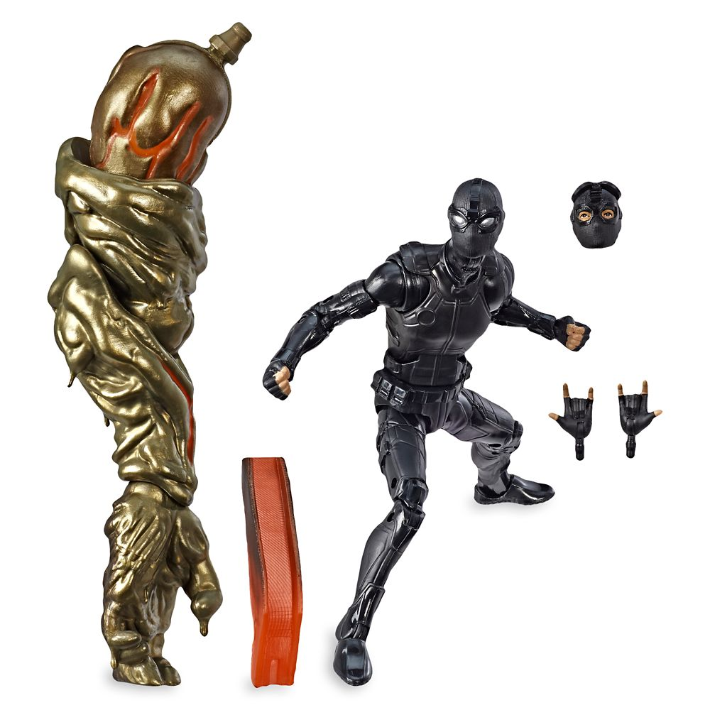 Spider-Man (Stealth Suit) Action Figure  Spider-Man: Far from Home Legends Series Official shopDisney
