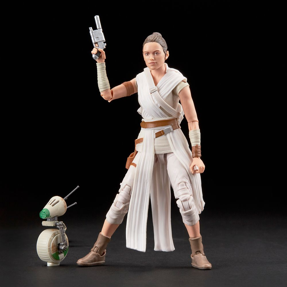 Rey and D-O Action Figure Set – Star Wars: The Rise of Skywalker – The Black Series by Hasbro
