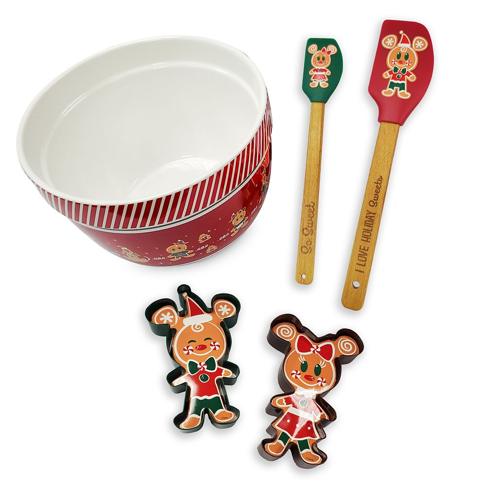 Mickey Mouse and Friends Holiday Baking Set Official shopDisney