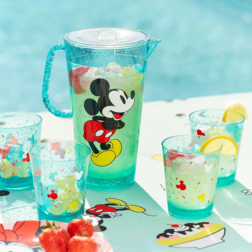 Mickey and Minnie Mouse Pitcher Set – Disney Eats