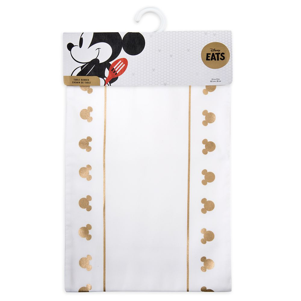 Mickey Mouse Icon Table Runner – Disney Eats