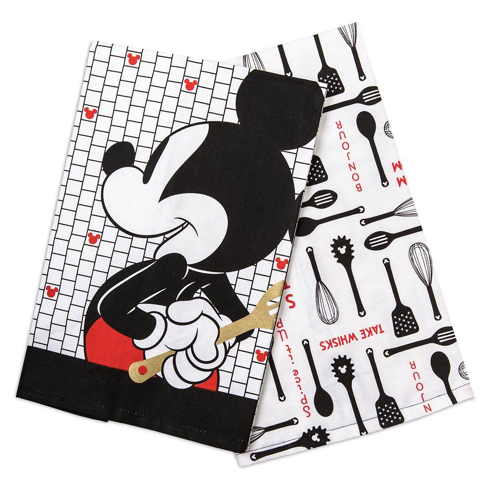 Mickey Mouse Kitchen Towel Set – Disney Eats
