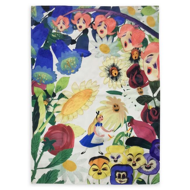 Alice in Wonderland by Mary Blair Kitchen Towel