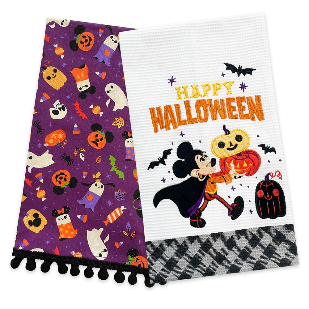 Mickey Mouse and Friends Halloween Kitchen Towel Set Official shopDisney