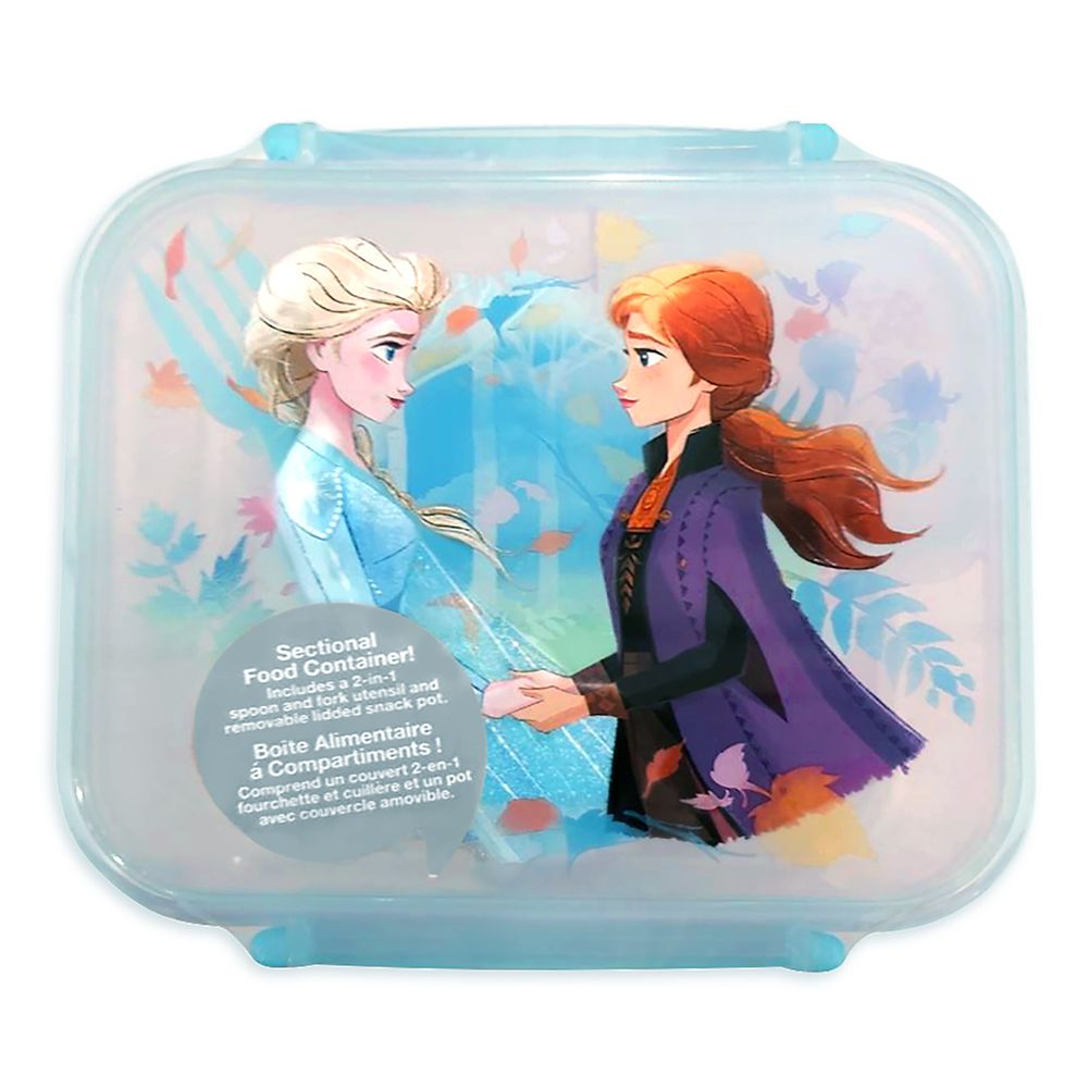 Elsa and Anna Food Storage Container – Frozen 2