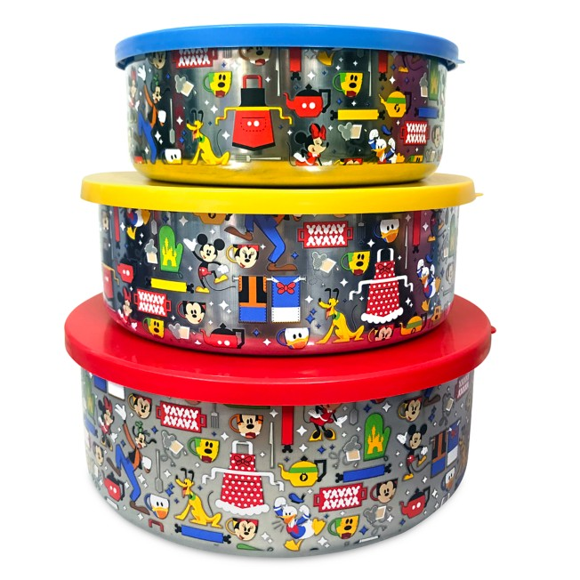 Mickey Mouse and Friends Food Storage Containers
