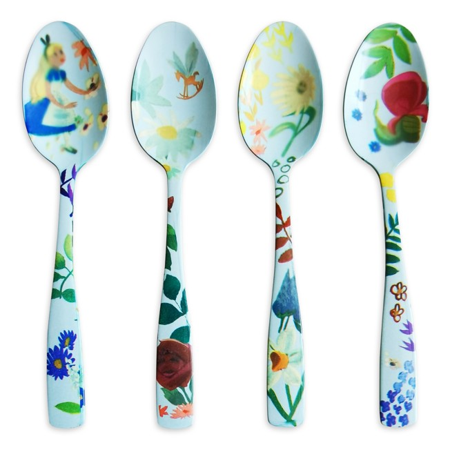 Alice in Wonderland by Mary Blair Tea Spoon Set