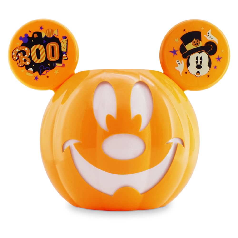 Mickey Mouse Jack-o'-Lantern Halloween Candy Bowl Official shopDisney