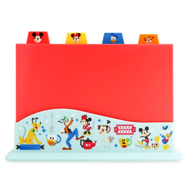 Mickey Mouse and Friends Cutting Board Set