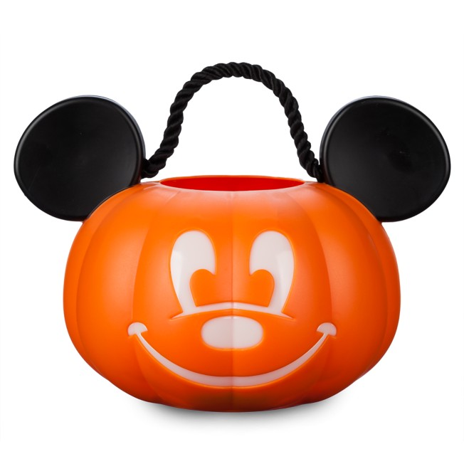 Mickey Mouse Jack-o'-Lantern Light-Up Treat Bucket