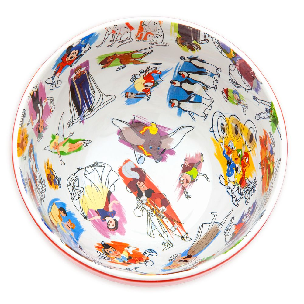 Disney Ink & Paint Ceramic Bowl Set
