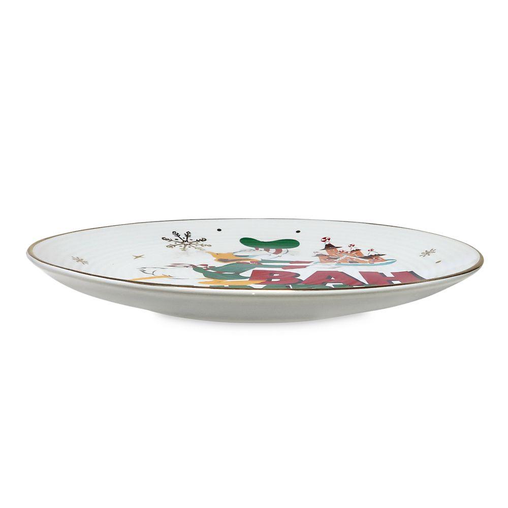 Donald Duck Holiday Dessert Plate