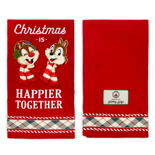 Chip 'n Dale Holiday Kitchen Towel