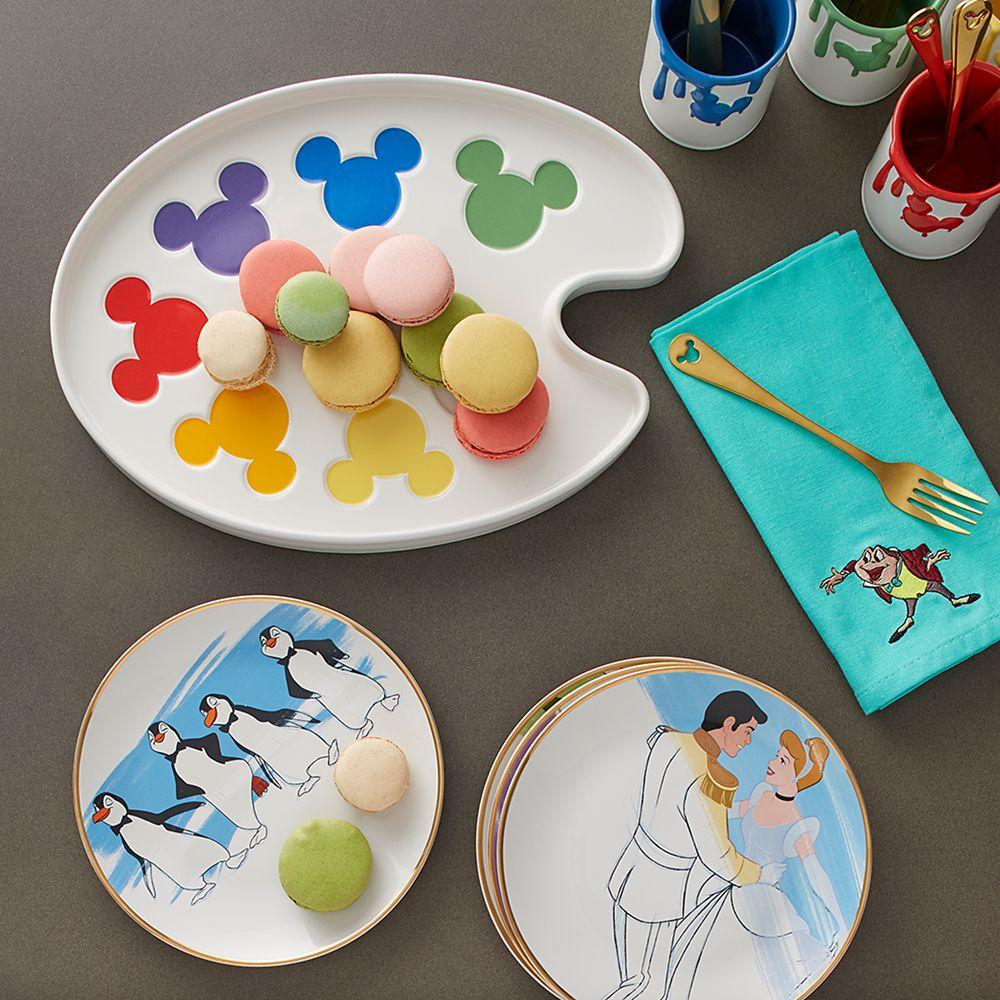 Disney Ink & Paint Ceramic Serving Platter