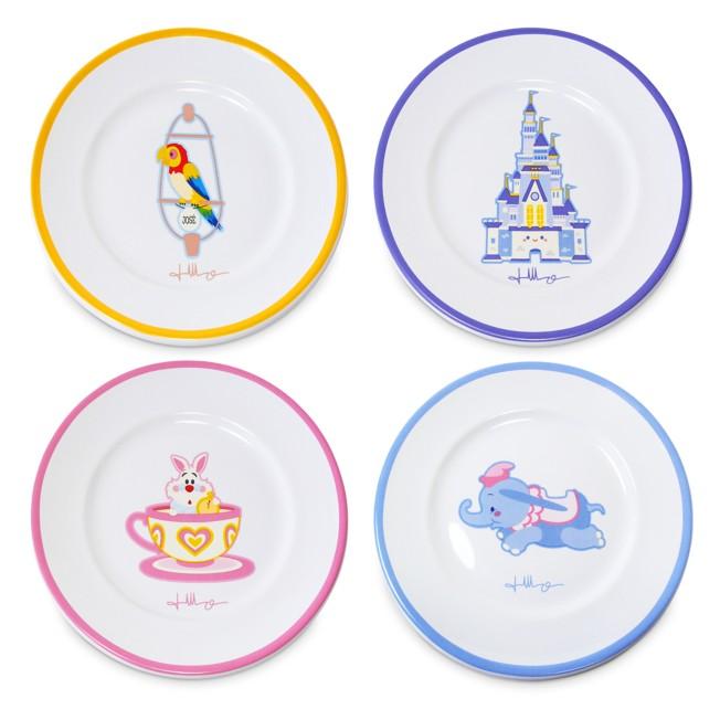 Disney Parks Plate Set by Jerrod Maruyama