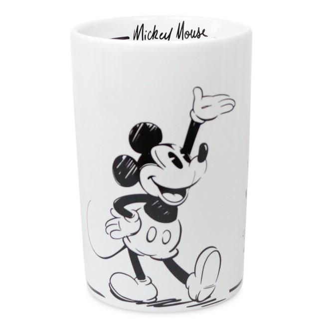 Mickey Mouse Black and White Utensil Holder