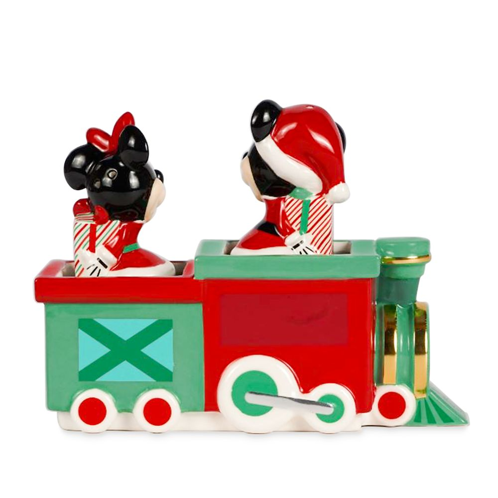 Mickey and Minnie Mouse Holiday Salt & Pepper Set