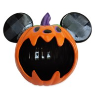 Mickey Mouse Jack-o'-Lantern Candy Bowl