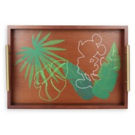Mickey Mouse Tropical Wood Serving Tray