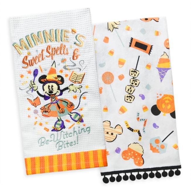 Minnie Mouse Halloween Kitchen Towel Set