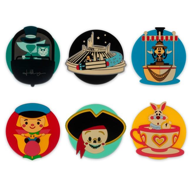 Disney Parks Drink Coaster Set by Jerrod Maruyama