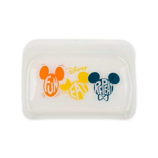 Mickey Mouse Repeatables Silicone Snack Bag