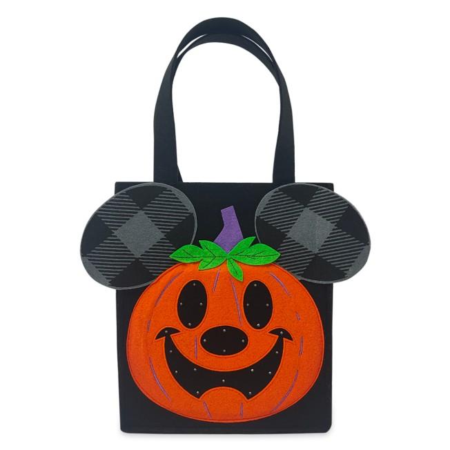 Mickey Mouse Jack-o'-Lantern Light-Up Halloween Candy Bag