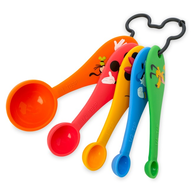 Mickey Mouse and Friends Measuring Spoon Set