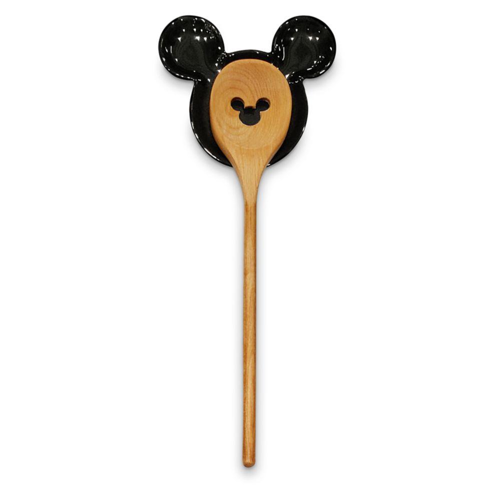 Mickey Mouse Spoon and Spoon Rest Set – Disney Eats